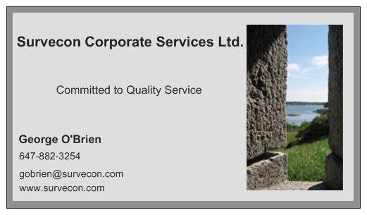 Survecon Business Card (3)